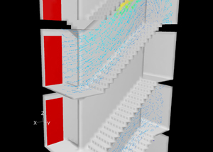 overdrukinstallatie trappenhuis