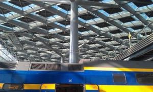 Dakconstructie Den Haag Centraal