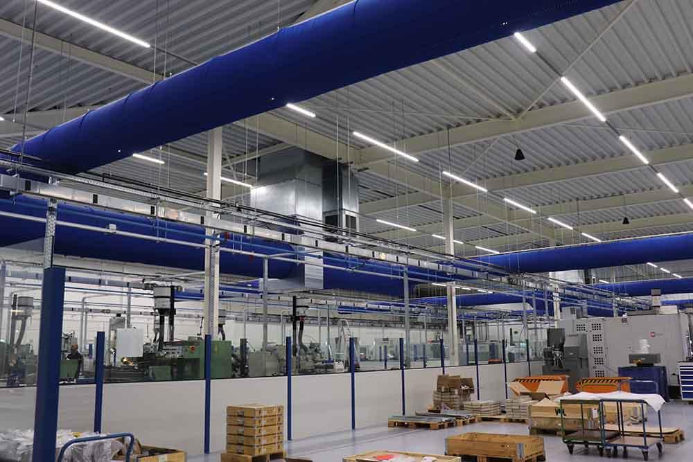 Anvil Industries - Klimaatinstallatie - cleanrooms