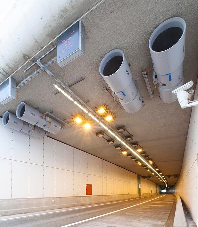 colt infra tunnel ventilation